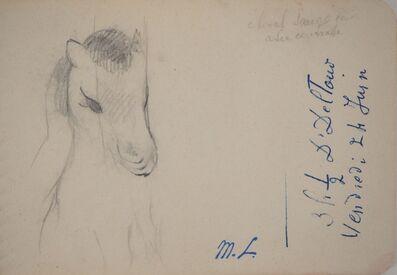 Marie Laurencin, 'Little Poney', 20th  Century