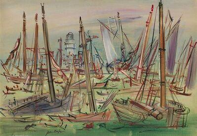 Jean Dufy, 'Bateaux de Peche'