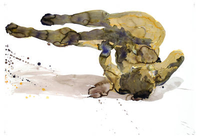 Eric Fischl, 'Tumbling Woman, New Works on Paper and Glass (Print Portfolio)', 2012