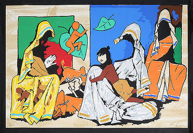 M. F. Husain, 'Mother Teressa', Unknown