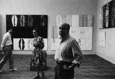 Ugo Mulas, 'Toti Scialoja', anni 1960