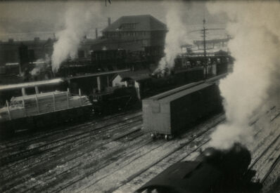 Ira Martin, 'New York Rail Yard', 1922
