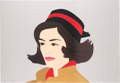 Alex Katz, 'Ada in Pillbox Hat (Alex and Ada, the 1960's to the 1980's Suite)', 1990