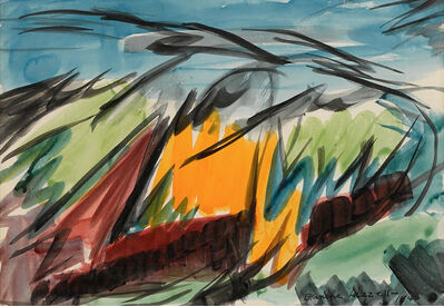 Blanche Lazzell, 'Untitled (Abstract)', 1946