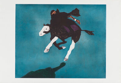 Fritz Scholder, 'Galloping Indian after Leigh', 1978