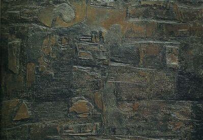 Lucio Muñoz, 'Tabla 18', 1959
