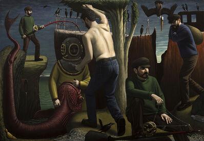 John Tarahteeff, 'Fishing the Wreck '