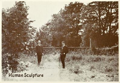 Gilbert and George, 'Human Sculpture', 1972