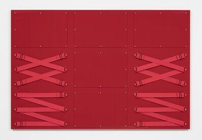 Joshua Saunders, 'Nine Panel Red', 2017