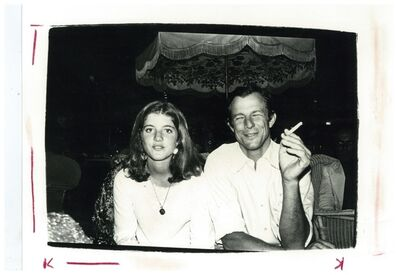 Andy Warhol, 'Andy Warhol, Photograph of Caroline Kennedy and Peter Beard circa 1975', ca. 1975
