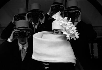 """Frank Horvat, '""""Givenchy Hat b""""', 1958"""