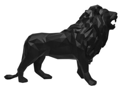 Richard Orlinski, 'Black Lion', 2016