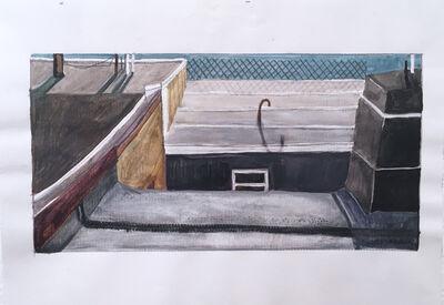 Francesca Reyes, 'Sitting on a Tar Roof Revisited', 2018