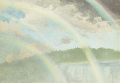 Albert Bierstadt, 'Four Rainbows over Niagara Falls', Date Unknown