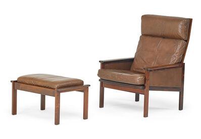 Illum Wikkelsø, 'Illum Wikkelso For Niels Eilersen Chair, Etc.', 1960s