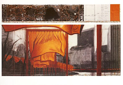Christo, 'The Gates (p)', 2004
