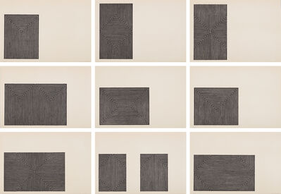 Frank Stella, 'Black Series I', 1967