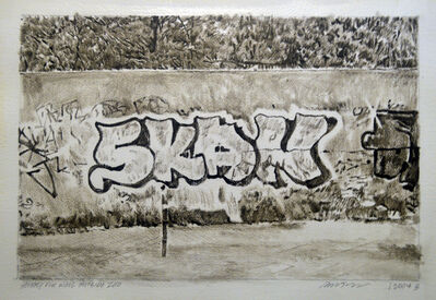 Hugo Bastidas, 'Study for the Wall Outside the Zoo', 2004