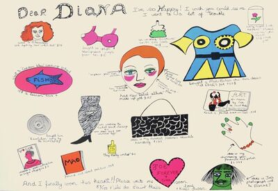 Niki de Saint Phalle, 'Dear Diana'
