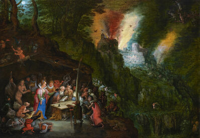 Jan Brueghel the Younger, 'The Temptation of Saint Anthony', 17th Century