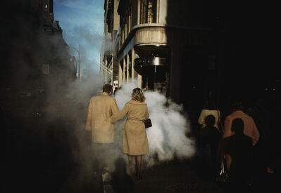 "Joel Meyerowitz, '""Camel Coats"", New York City', 1975"