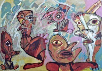 Lucebert, 'Figuren / Figures', 1987
