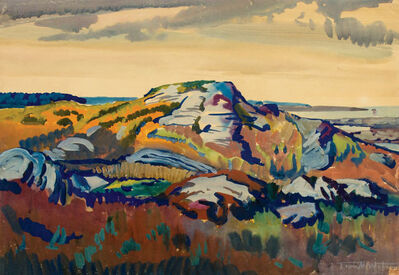 Frank Wilcox, 'View Towards Christmas Cove, Maine', ca. 1923