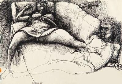 Renato Guttuso, 'Due Figure', 1968