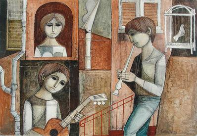 Lucio Ranucci, 'Three Musicians', 1973