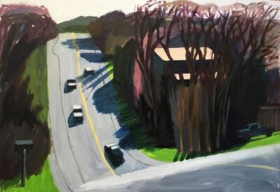 Anna Lukashevsky, 'A Road in Texas', 2018