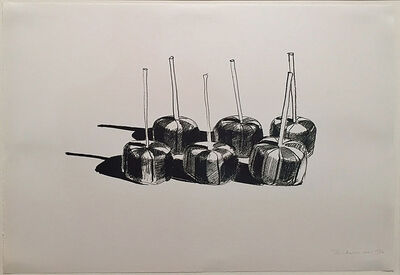Wayne Thiebaud, 'Suckers, State 1', 1968