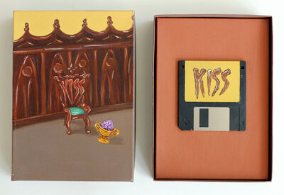 Suzanne Treister, 'SOFTWARE/Q. Would you recognise a Virtual Paradise?/Kiss', 1993-1994