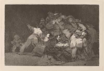 Francisco de Goya, 'Disparate general (General Folly)', in or after 1816