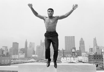 Thomas Hoepker, 'Muhammad Ali on Bridge over the Chicago River', 1966