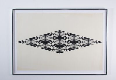 Francis Celentano, 'Geometric Study', 1965