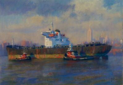 Joseph Peller, 'Freighter and Tugs', 2012