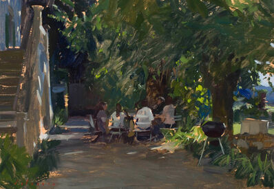 Marc Dalessio, 'Lunch in the Garden', 2017