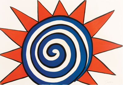 Alexander Calder, 'Les Etoiles (Red, White and Blue Sun)', 20th Century