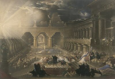 John Martin (1789-1854), 'Belshazzar's Feast', 1826