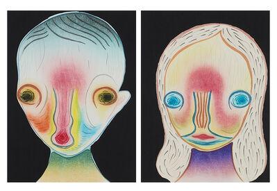 Izumi Kato, '1. Untitled Ⅰ / 2. Untitled Ⅱ', 2020