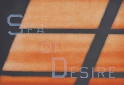 Ed Ruscha, 'Sea of Desire', 1984