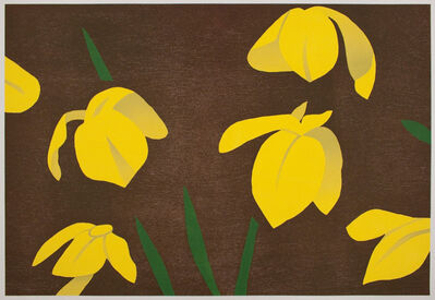 Alex Katz, 'Yellow Flags', 2013