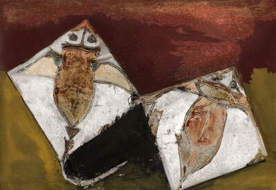 Francisco Toledo, 'Dos Rayas (Two Rays)', 1987
