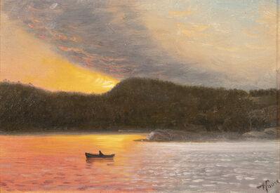 Nelson Augustus Moore, 'Sunlit Seascape', 1889