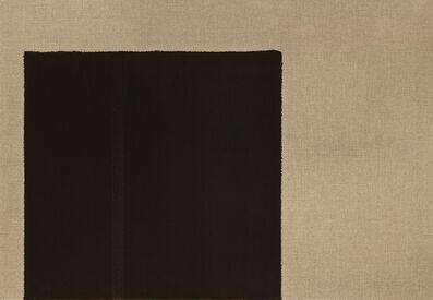 Yun Hyong-keun, 'Burnt Umber & Ultramarine Blue', 2002