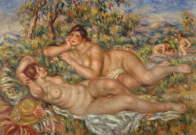 Pierre-Auguste Renoir, 'The Bathers', 1918-1919