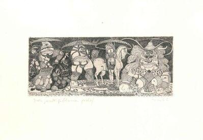 Tono Zancanaro, 'Este's Gardens', 1942