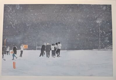 David Rathman, 'High school Football Winter', 2018