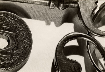 Claude Tolmer, 'keys and coins', ca. 1930