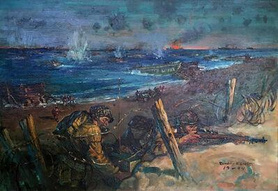 Benton Clark, 'Landing at Normandy Beach', 1944